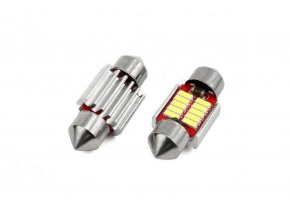 LED žárovka CANBUS 10SMD 4014 sufitka 31mm bílá 12V/24V