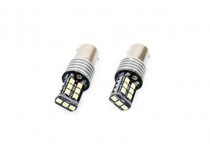 LED žárovka CANBUS 15SMD 2835 7,5W 1156 (P21W) bílá 12V/24V