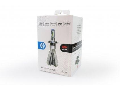 LED žárovky H1 50W RS + slim - sada