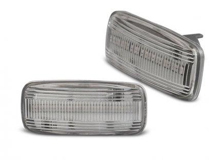 Boční blikače Audi A3/ A4/ A6/ TT bílá LED