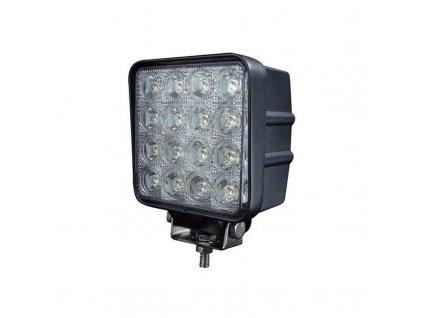 LED pracovní světla 16x LED flood (square) 12/24V