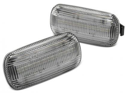 Boční blikače Audi A4 B6 10.00-10.04 / A4 B7 11.04-08 bílá LED