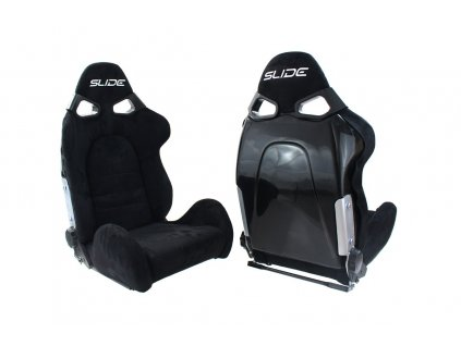 Fotel Sportowy CUGA Zamsz Bride Black [107994] 1200[1]