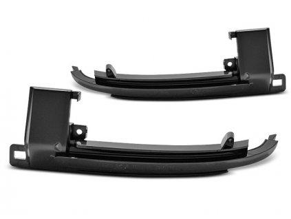 LED boční směrovky pro zrcátka Audi A3 08-10 / A4 07-10 / A5 07-10 / A6 08-10 / Q3 11-17 kouřová SEQ LED