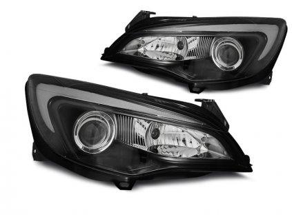 Přední světla Opel Astra J 10-15 TUBE LIGHT černá