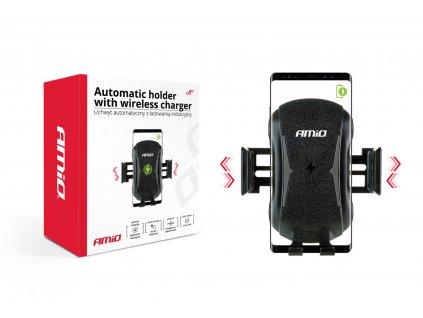 Automatický držák telefonu s bezdrátovým indukčním nabíjením PHW-02 HQ