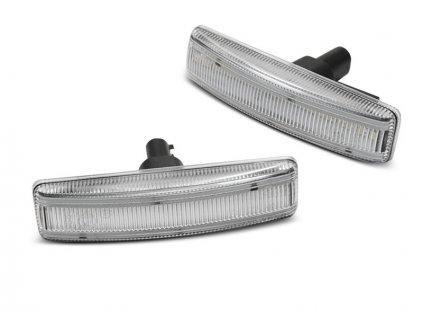 Boční blikače Land Rover Range Sport 05-12 LED bílá