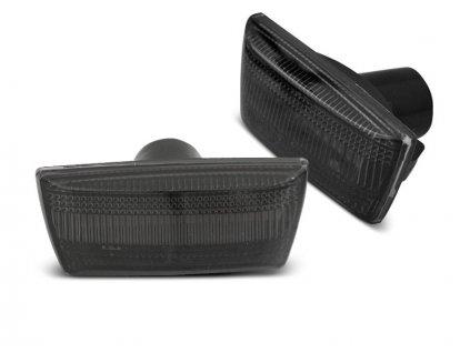 Boční blikače Opel Astra H / Corsa D / Insignia / Zafira kouřová LED SEQ