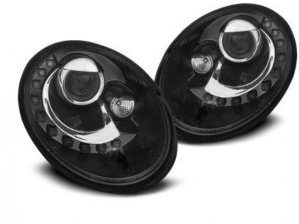Přední světla VW Beetle 06-12 LED černá