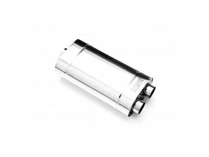Centrální tlumič výfuku RM MOTORS, vstup 50 mm