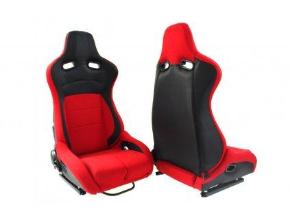 Sportovní sedačka Monza Furio červená