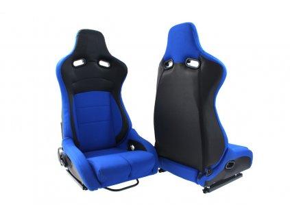 Sportovní sedačka Monza Furio modrá