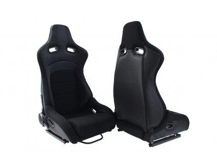 Sportovní sedačka Monza Furio černá