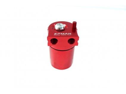 Oil catch tank, zachyt. olejová nádoba 0.3L 10mm / 15mm Epman PRO červená