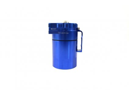 Oil catch tank, zachyt. olejová nádoba 0.3L 10mm / 15mm Epman PRO modrá