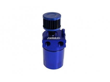 Oil catch tank, zachyt. olejová nádoba 0.3L 10mm / 15mm TurboWorks PRO modrá