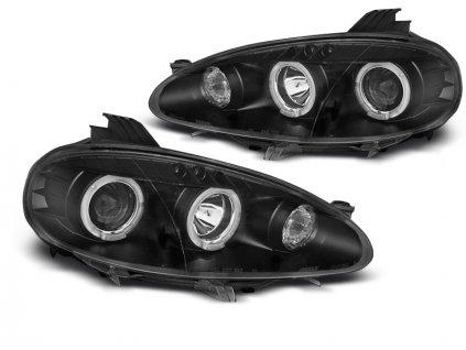 Přední světla Mazda MX5 01-05 černá