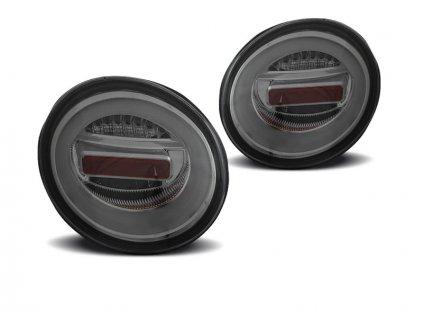 Zadní světla VW New Beetle 97+ - kouřové LED BAR SEQ