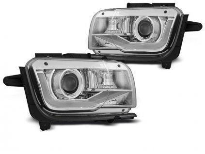 Přední světla Chevrolet Camaro 09-13 TUBE LIGHT chrom