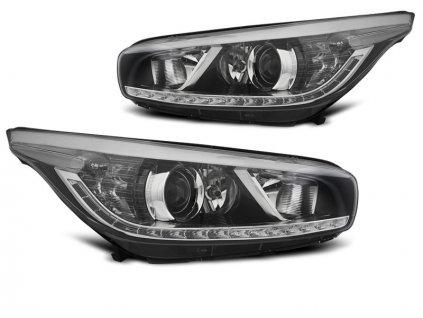 Přední světla Kia Ceed II 12-18 - černá LED