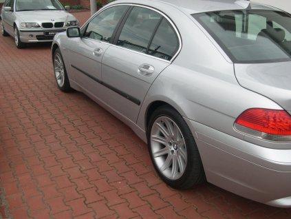Boční ochranné lišty dveří BMW 7 Limuzina 02-08R