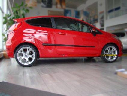 Boční ochranné lišty dveří Ford Fiesta 3D 08R htb