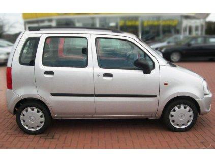 Boční ochranné lišty dveří Opel Agila I 00R htb