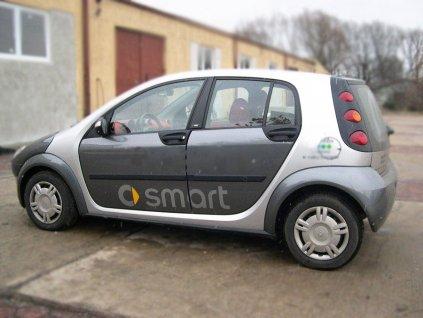 Boční ochranné lišty dveří Smart For Four 5D 04R htb
