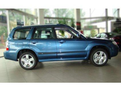 Boční ochranné lišty dveří Subaru Forester 02-08R