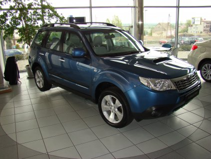 Boční ochranné lišty dveří Subaru Forester 11R