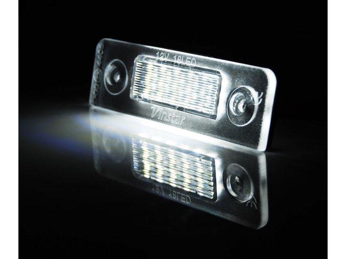 Osvětlení SPZ LED Škoda Octavia II 09-12, Roomster 06-10