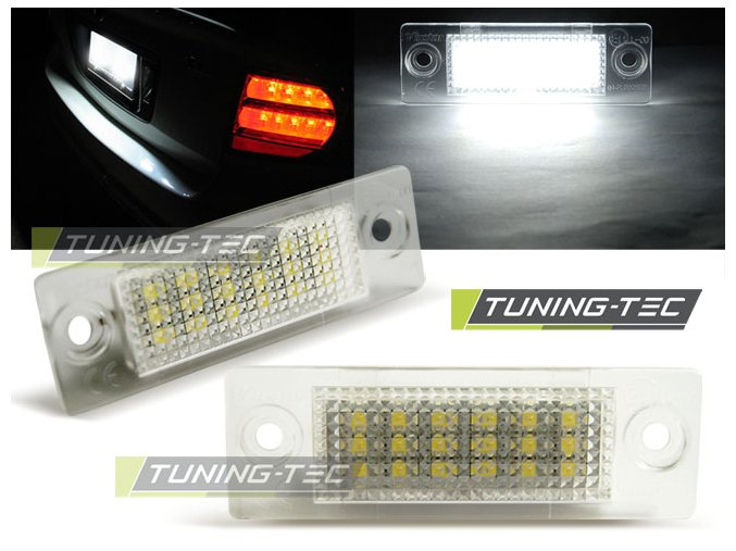 Osvětlení SPZ LED VW Touran/Jetta/Golf Plus/Caddy/Passat 3BG sedan/T5 a Škoda Superb