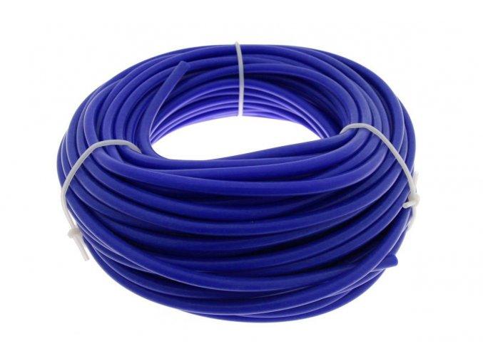 Podtlaková silikonová hadička TurboWorks, průměr 6 mm, modrá