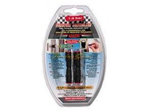 Čepičky ventilků s kontrolou tlaku v pneu , 2.4 bar, sada 4 ks