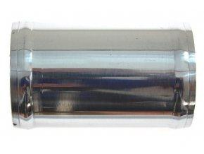 Hliníková trubka rovná TurboWorks, průměr 60mm, délka 10cm