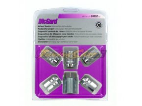 McGard bezpečnostní matky M12x1,25x32,5mm kužel 60, klíč 19