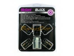 McGard bezpečnostní matky M12x1,5x32,5mm kužel 60, klíč 19 - černé