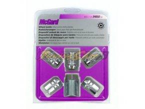 McGard bezpečnostní matky UNF 1/2x20x37mm, kužel 60, klíč 21