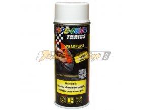 MOTIP Spray plast bílý lesk 400 ml / tekutá guma