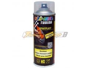 MOTIP Spray plast transparentní lesk 400 ml / tekutá guma