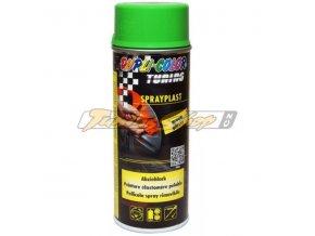 MOTIP Spray plast zelený lesk 400 ml / tekutá guma