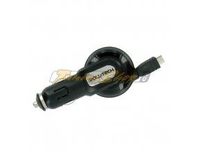 Nabíječka Roll-Tech pro mobilní telefony, micro USB, 12/24V