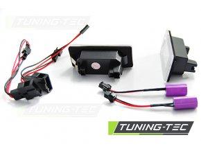 Osvětlení SPZ LED Audi Q5 /A4 08-10/A5/TT/VW Passat B6 combi LED CREE CANBUS CLEAR