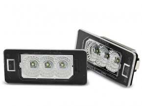Osvětlení SPZ LED BMW E90/E91/E92/E93/E39/E60/E61/E70/E71/E82/E88 LED CREE CLEAR