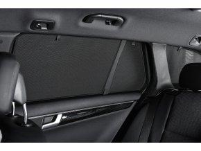 PRIVACY SHADES Protisluneční clony Alfa Romeo 147 hatchback 3dv. (2005-2011) - komplet sada: 4 ks