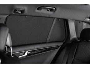 PRIVACY SHADES Protisluneční clony Audi A2 hatchback 5dv. (1999-2001) - komplet sada: 6 ks