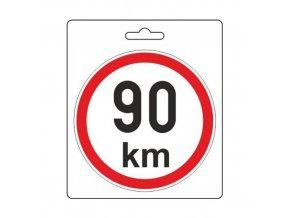 Samolepka omezená rychlost 90km/h (150 mm) TIR