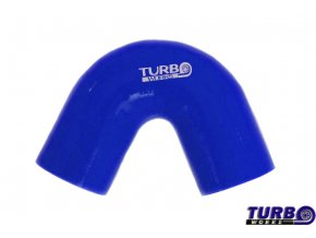 Silikonová hadice TurboWorks koleno 135°, průměr 51 mm, délka 70 mm, modrá