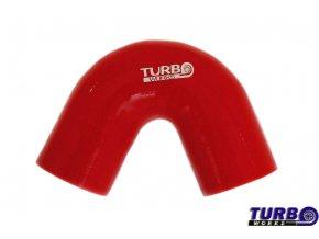 Silikonová hadice TurboWorks koleno 135°, průměr 63 mm, délka 70 mm, červená