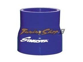 Silikonová redukce - redukční průměr 60x70 mm, délka 76 mm